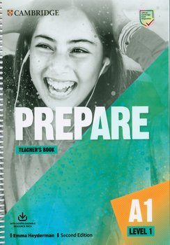 Prepare 1. Teacher's Book with Downloadable Resource Pack. Level 1 cover